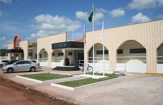 Instalação; Sede própria; TJ/MA; Maracaçumé; São Luís;