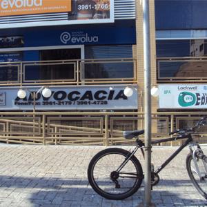 Para chegar ao escritório de Ribeirão Preto/SP, localizado numa das avenidas mais movimentadas da cidade, é preciso descer uma grande rampa.