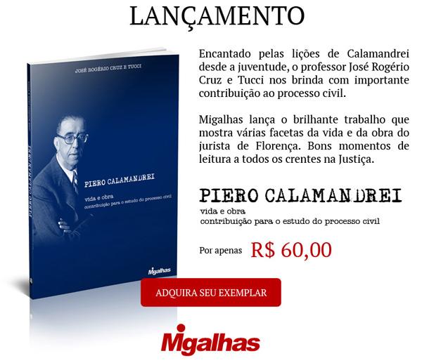 Piero Calamandrei - vida e obra - contribuição para o estudo do processo